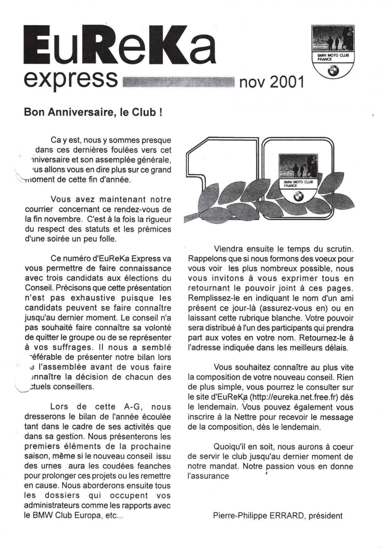 2001 11 eureka express 1