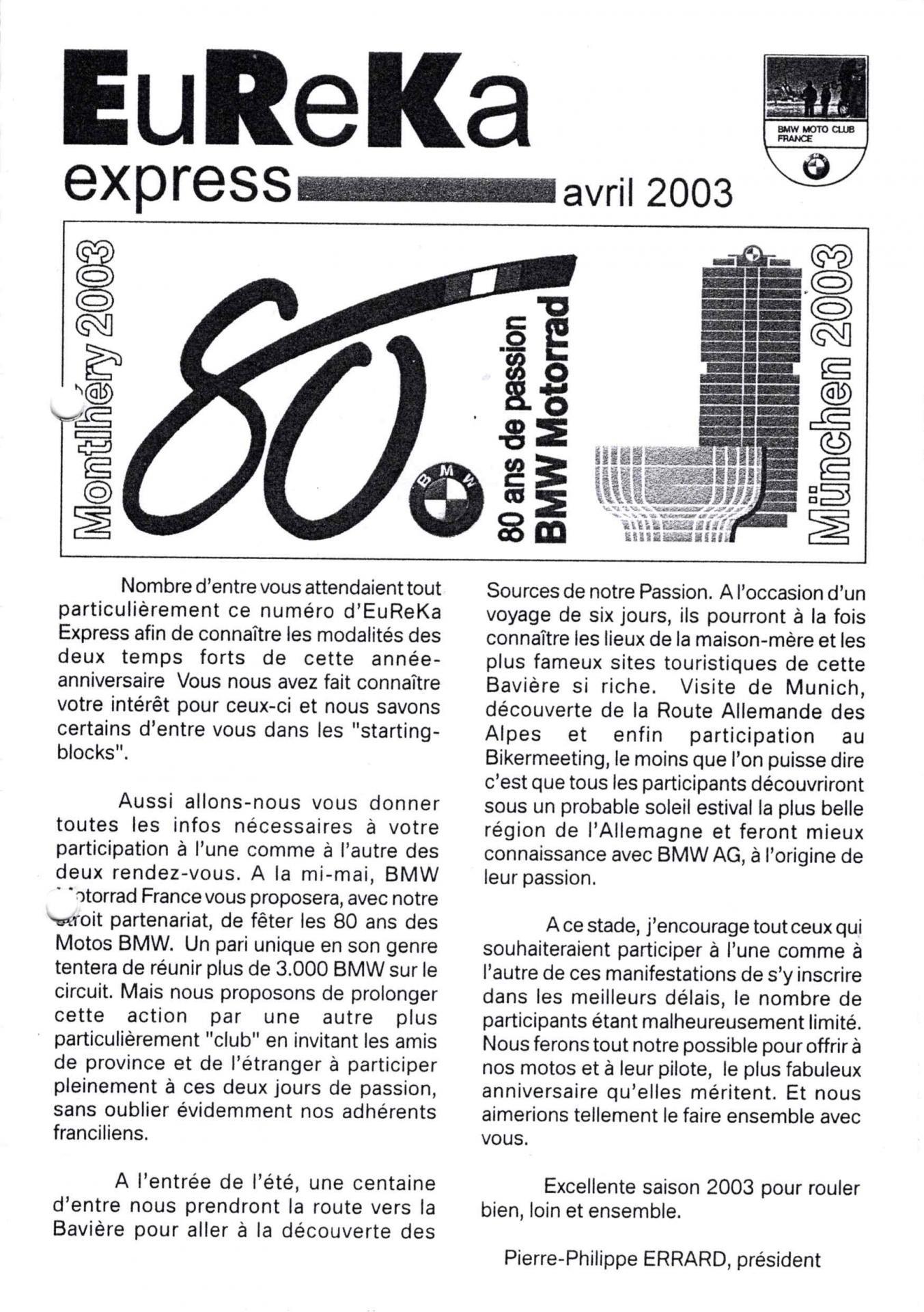 2003 04 eureka express 1