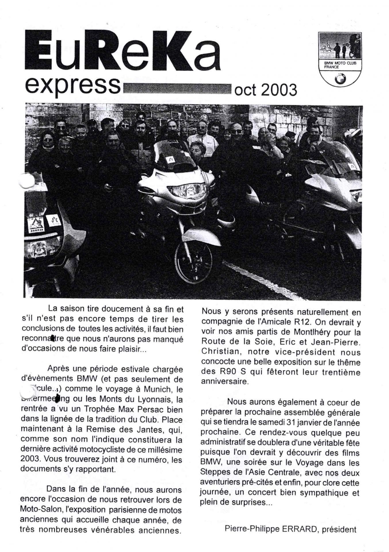 2003 10 eureka express 1