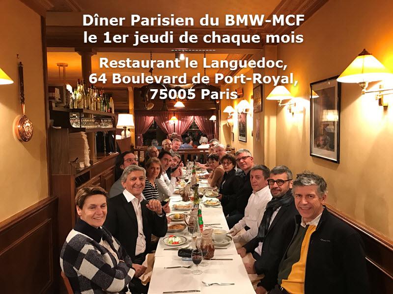 Diner parisien 07 decembre