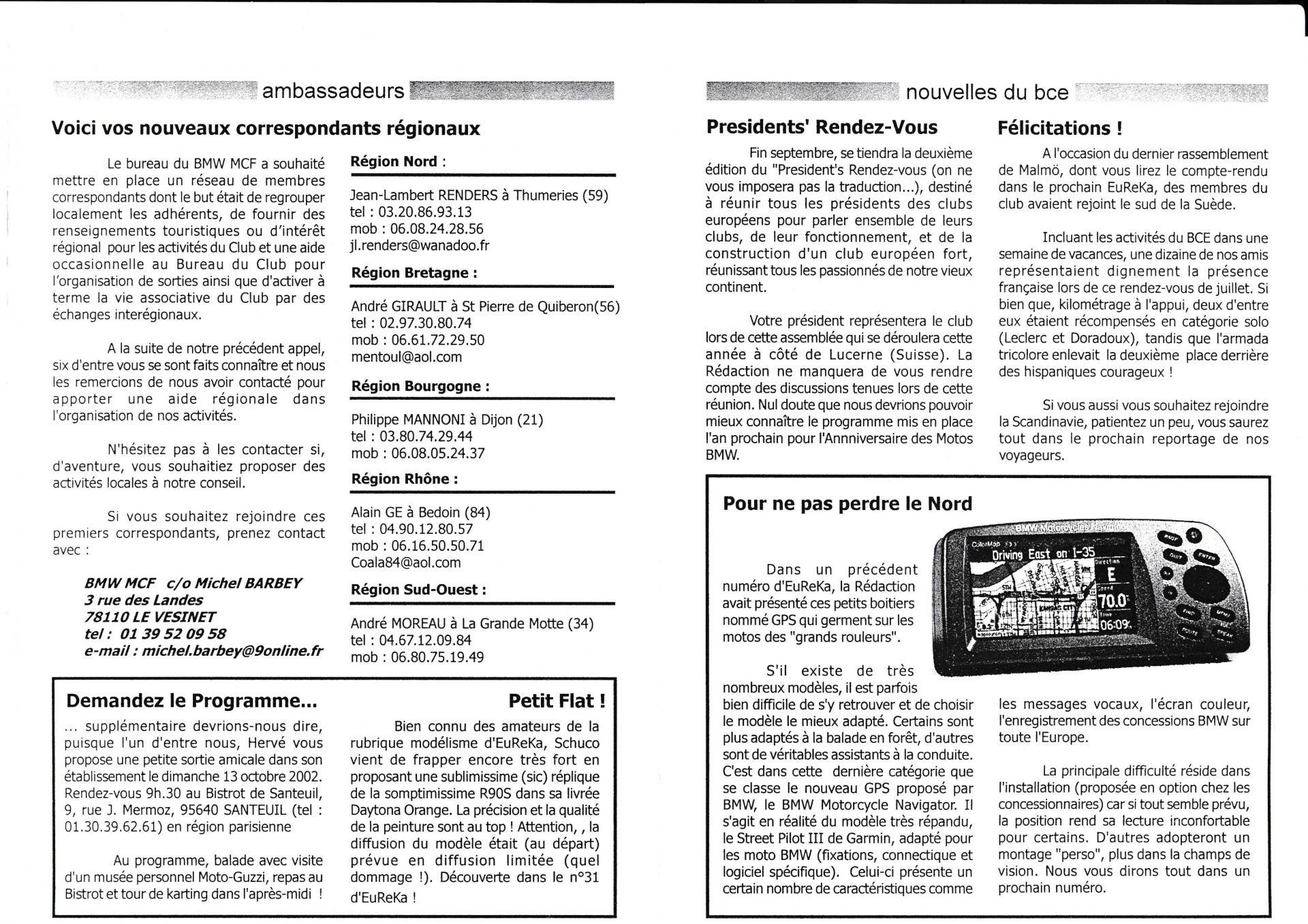 Eureka express septembre 2002 2