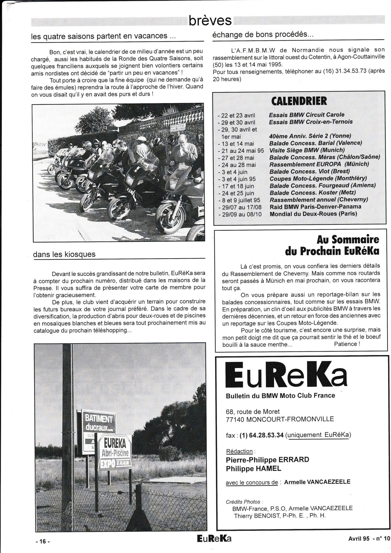 Eureka n 10 16