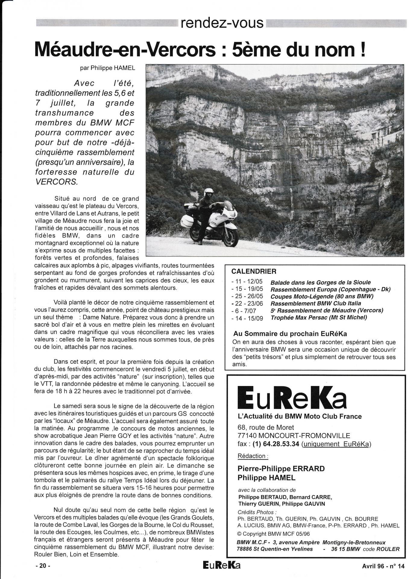 Eureka n 14 20