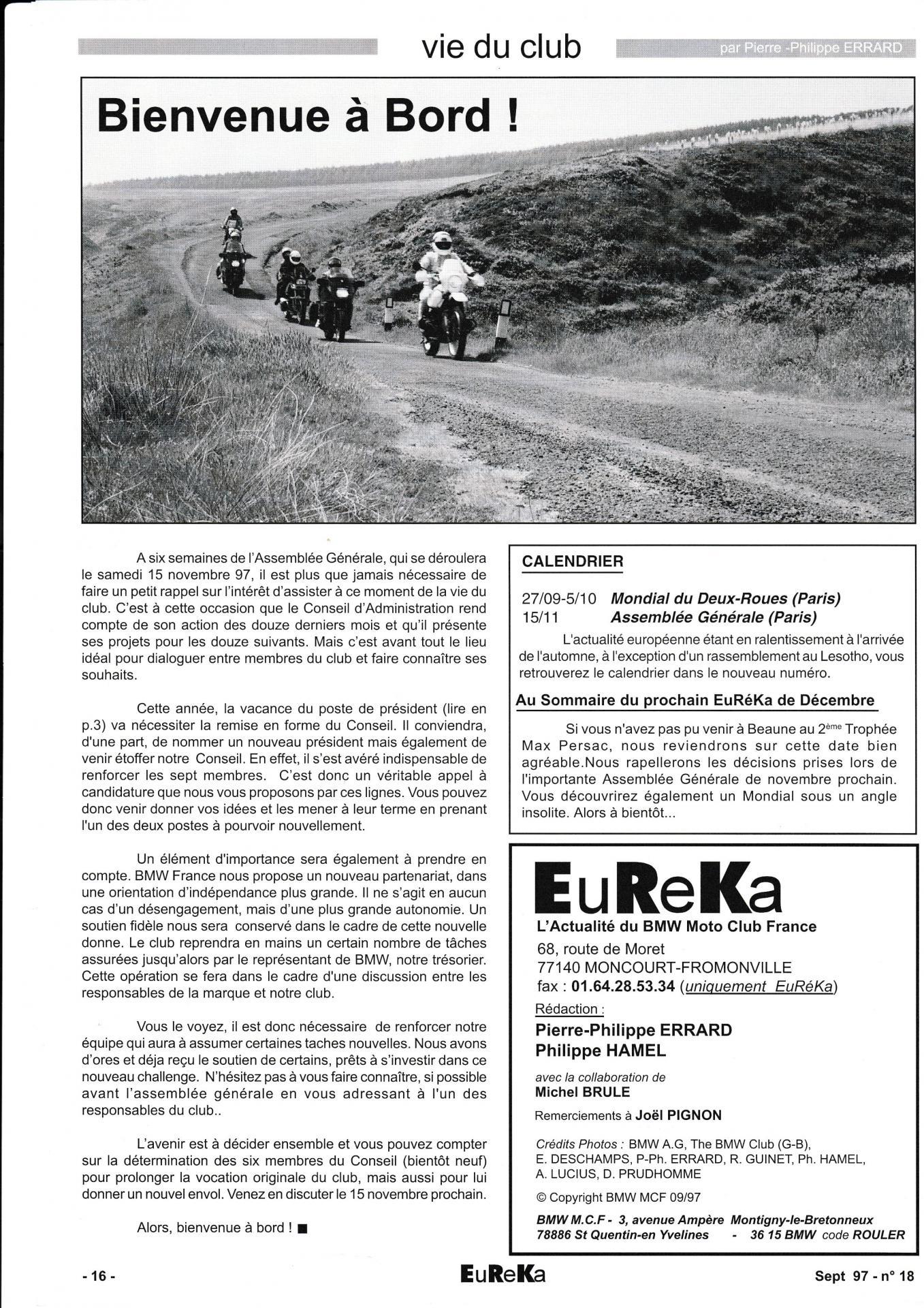 Eureka n 16