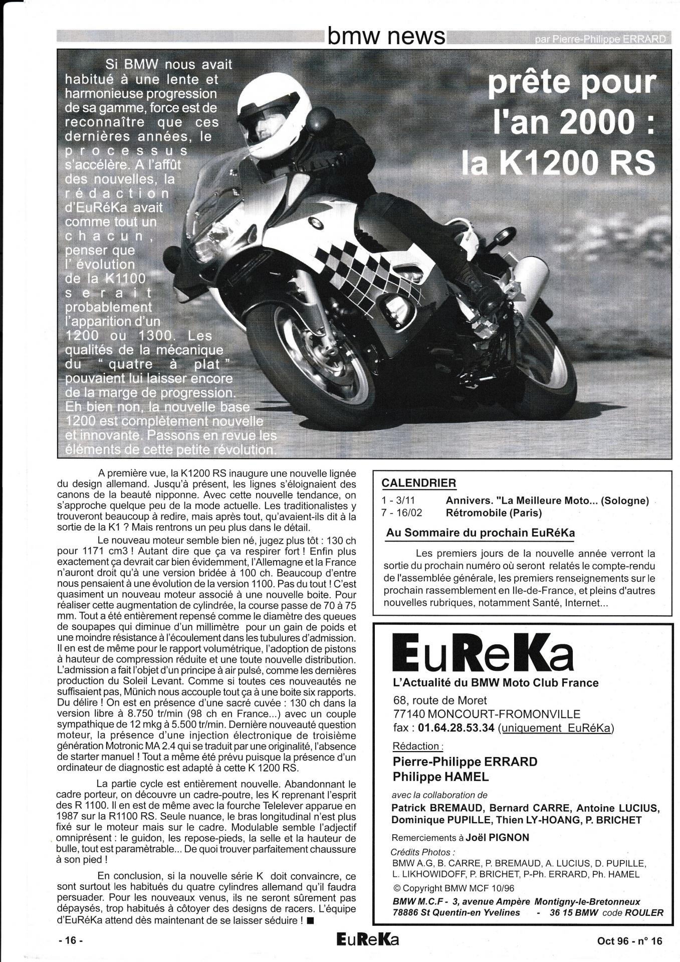 Eureka n 16 16