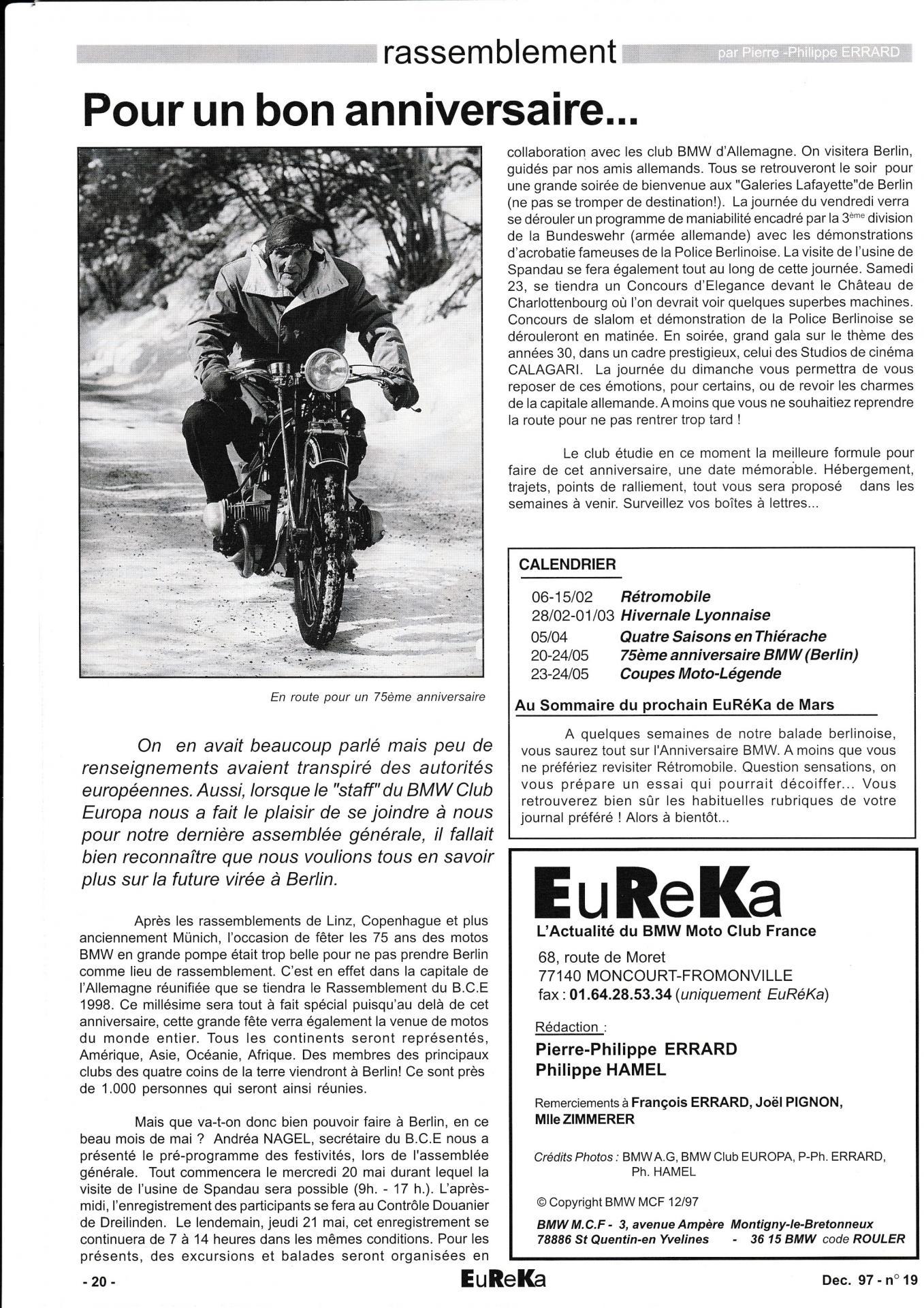Eureka n 20