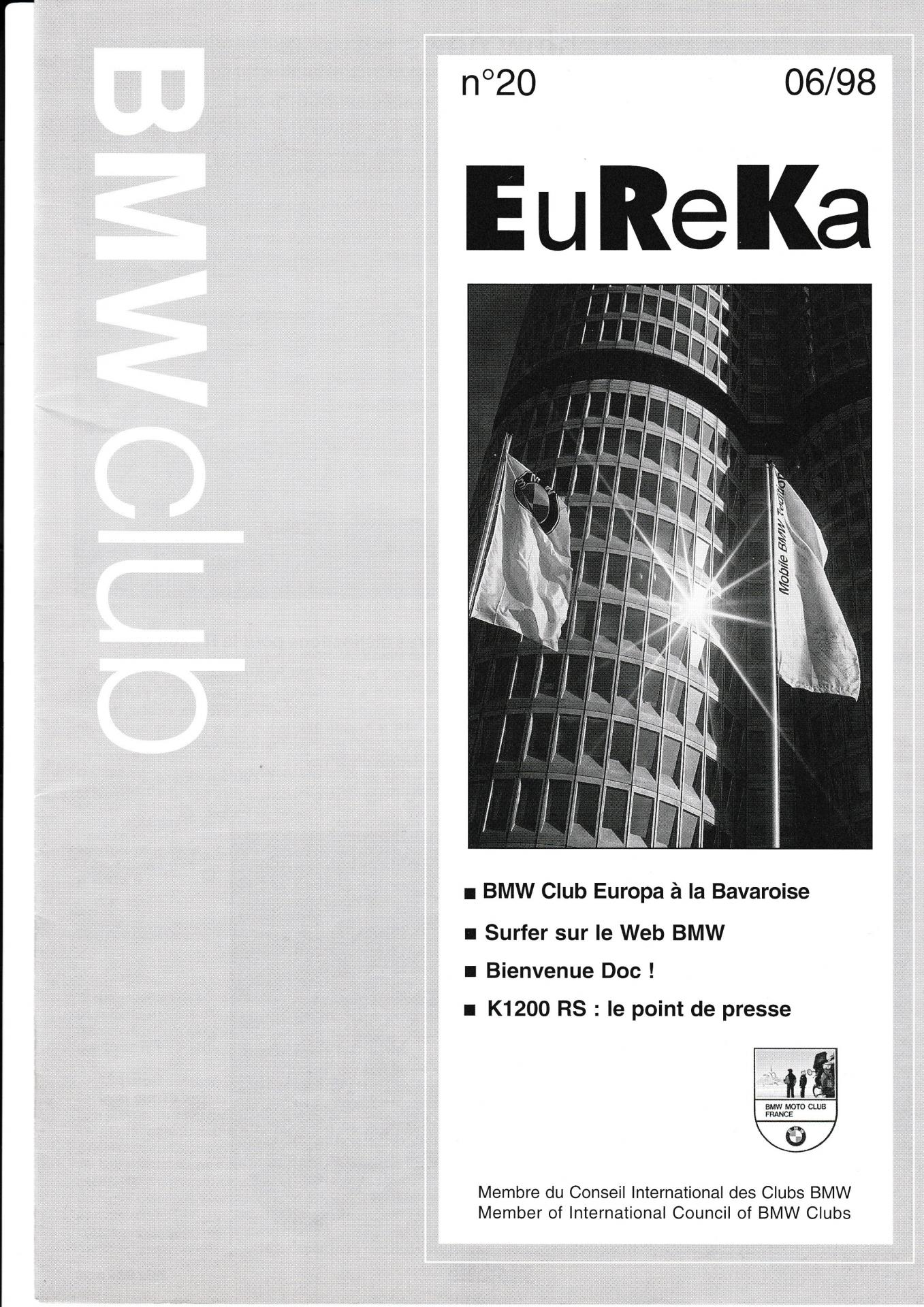 Eureka n 20 1