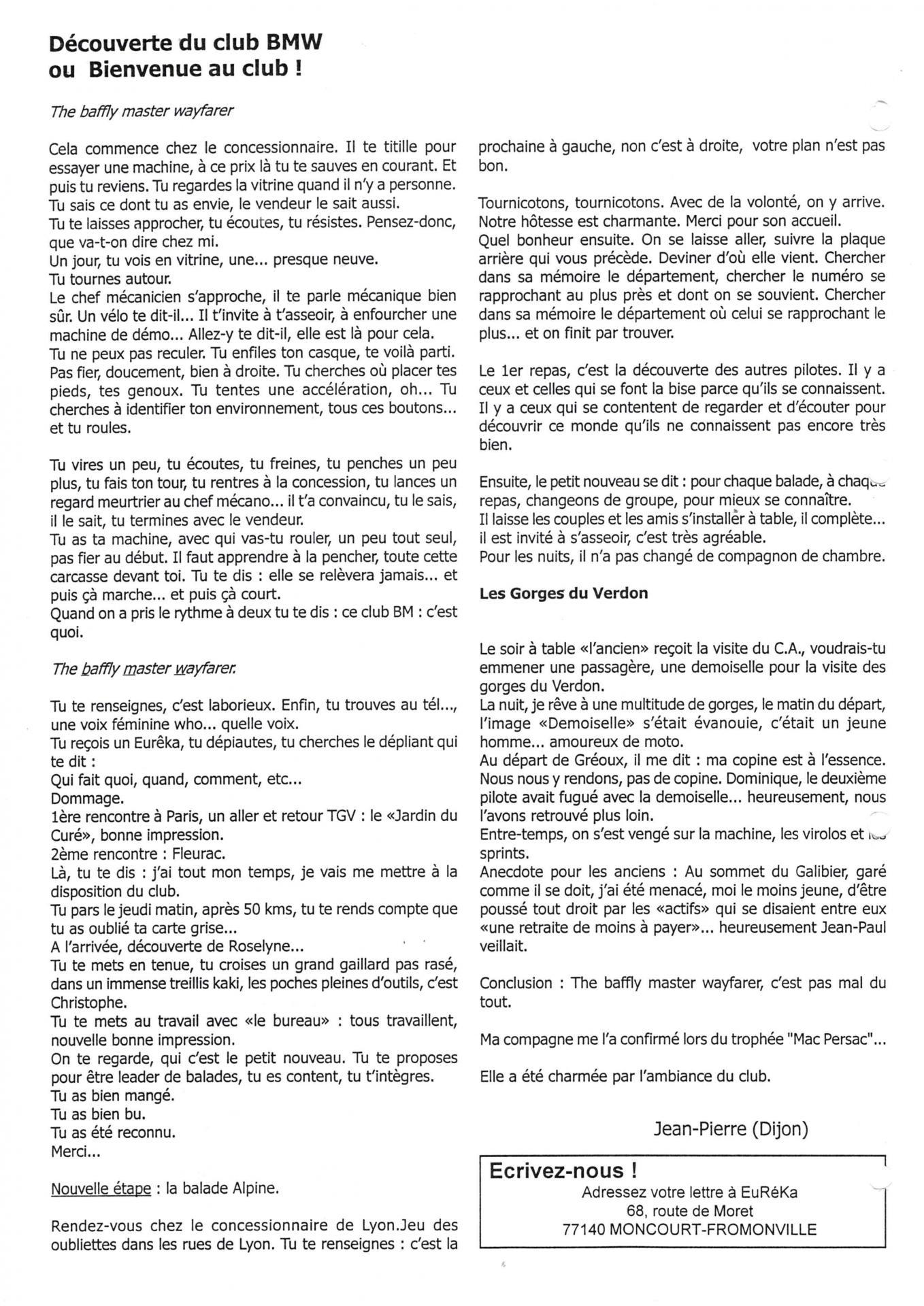 Eureka n 25 courrier lecteur page 2