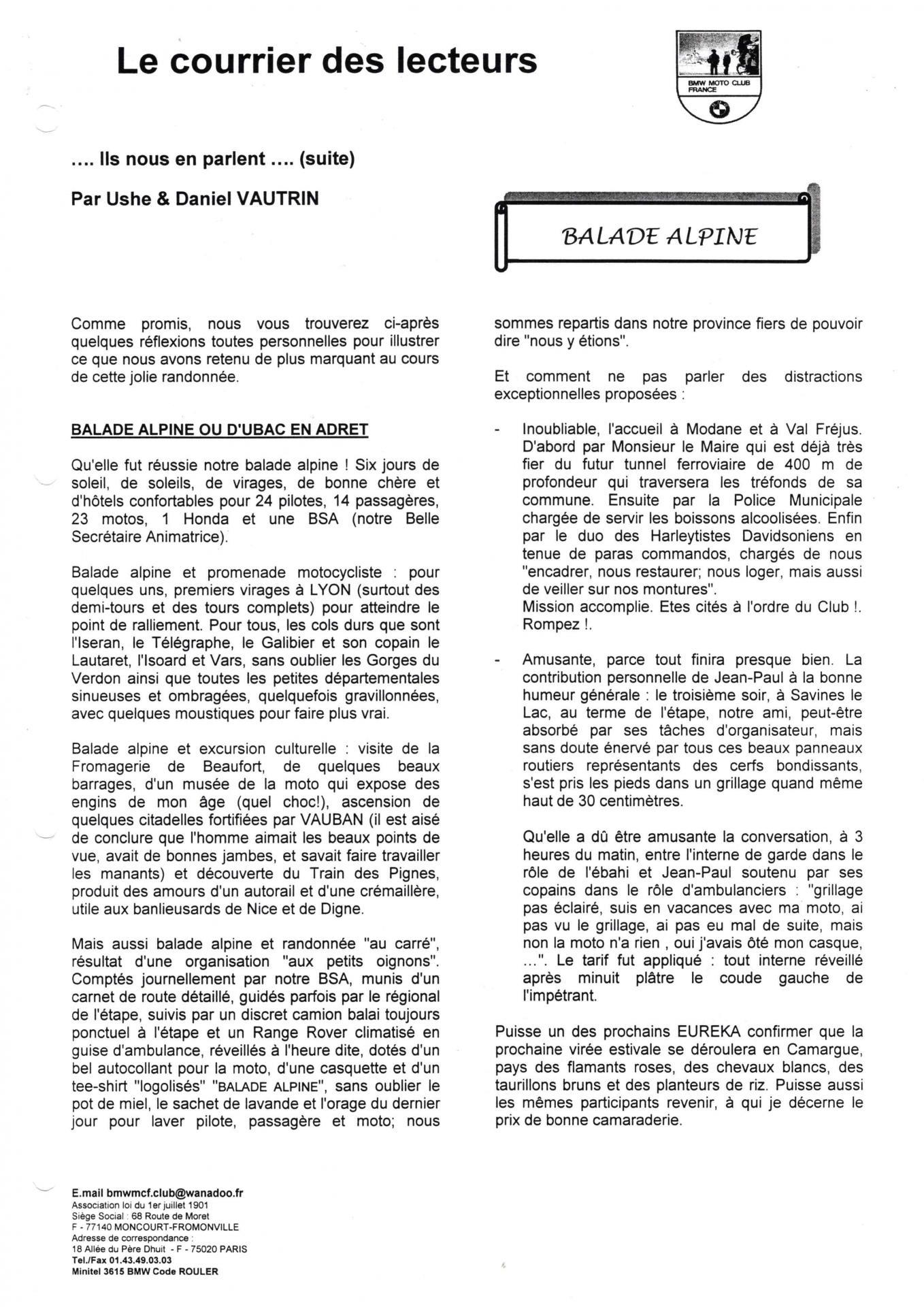 Eureka n 25 courrier lecteur page 6