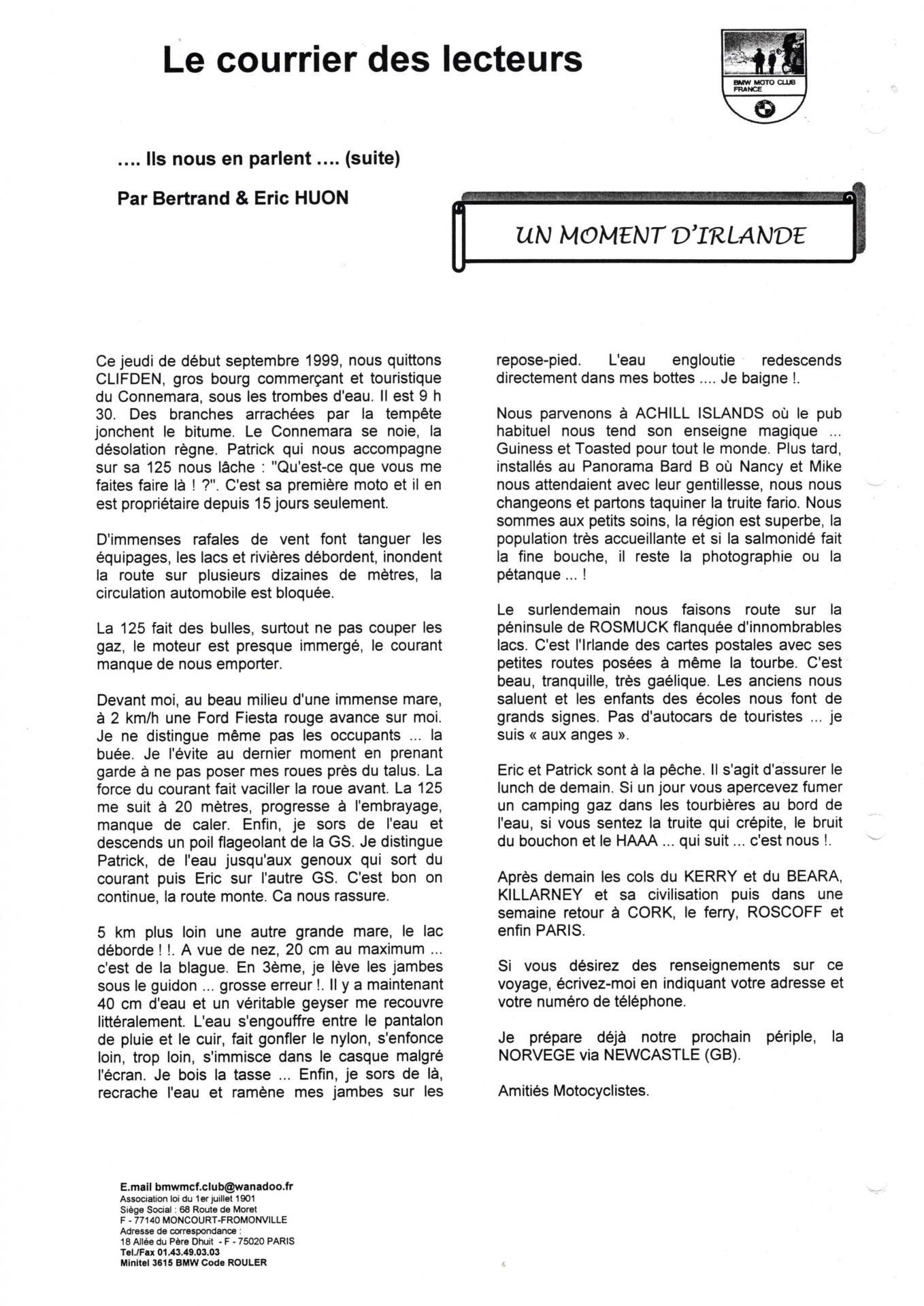 Eureka n 25 courrier lecteur page 7