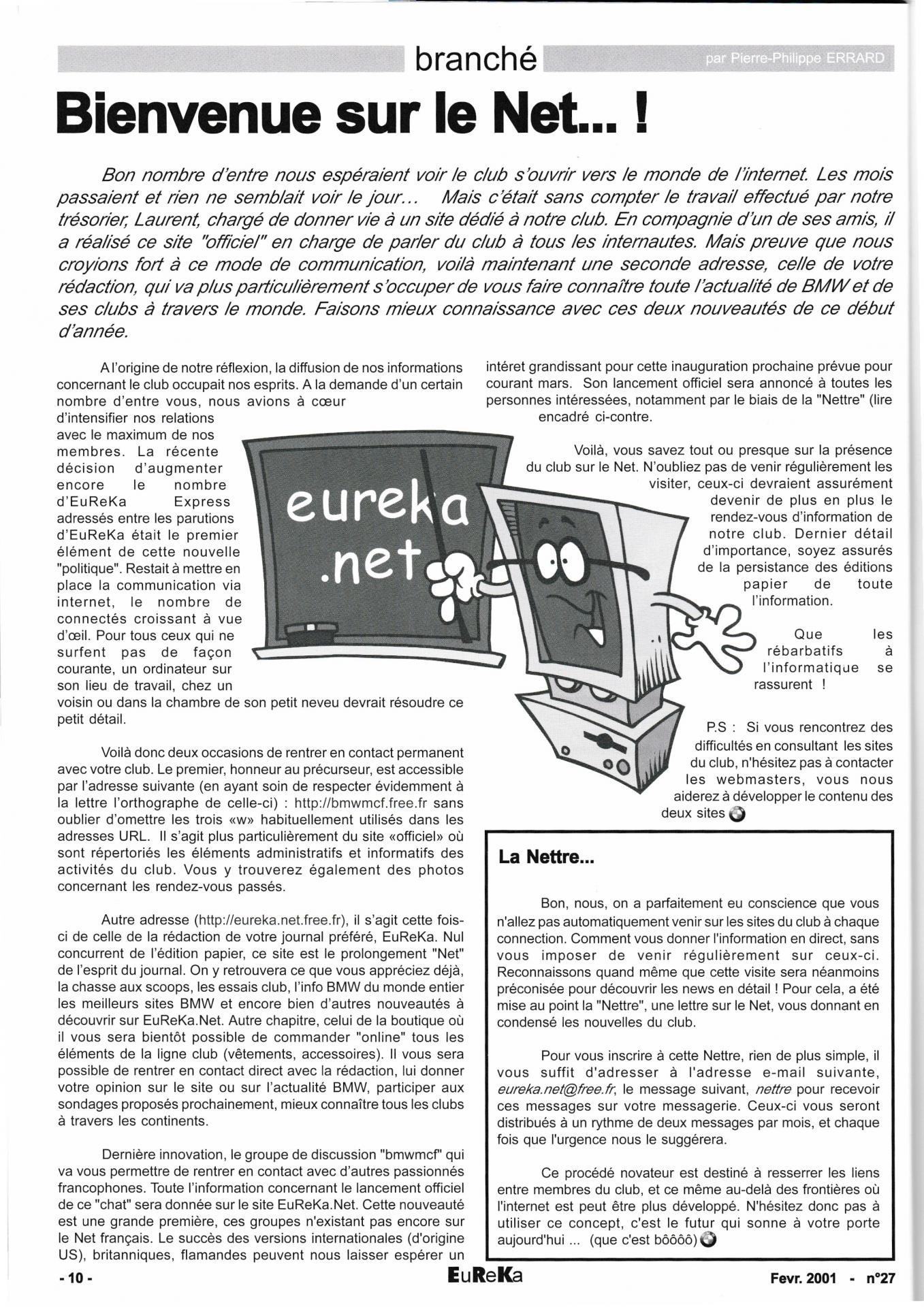 Eureka n 27 10