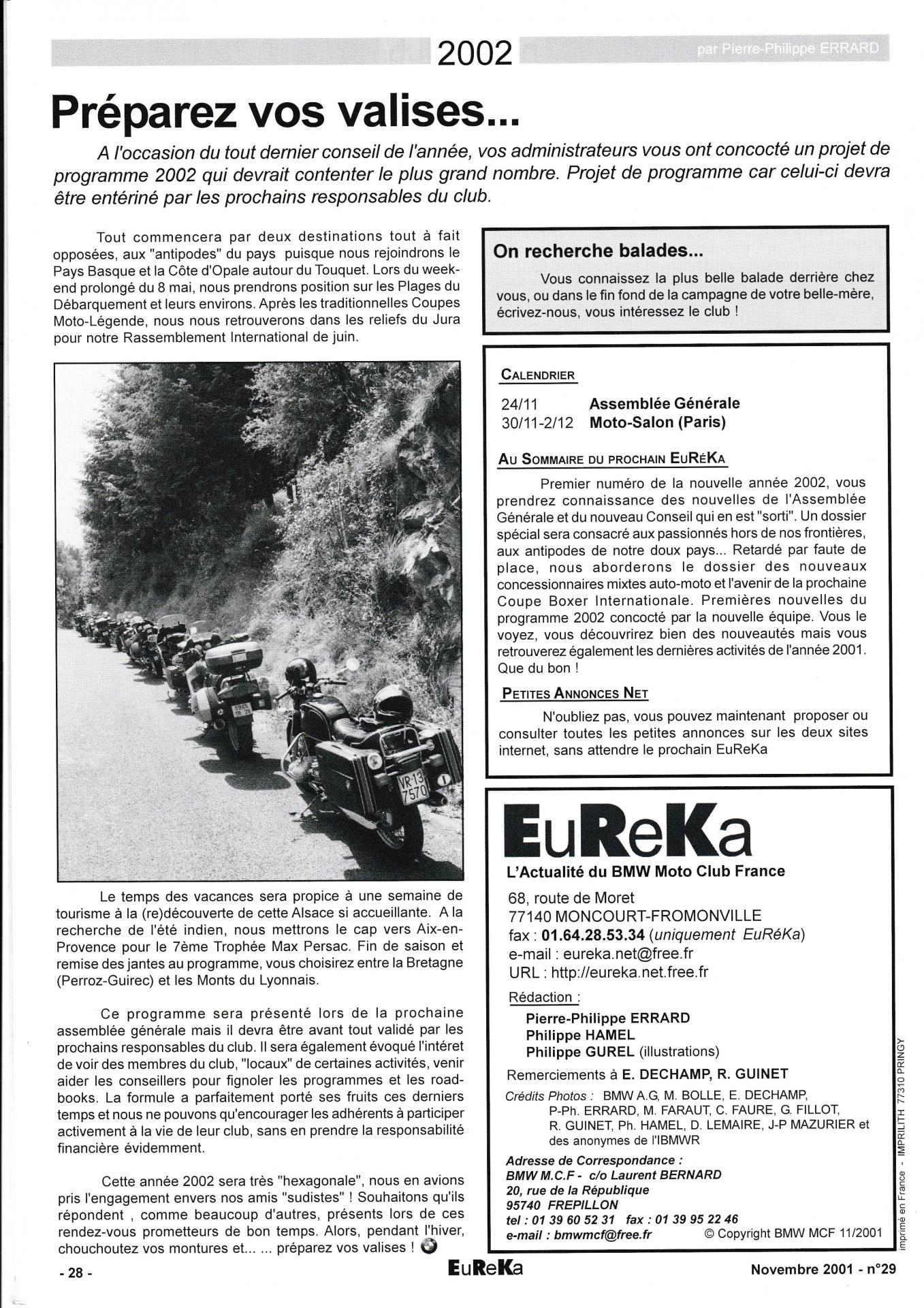 Eureka n 29 28