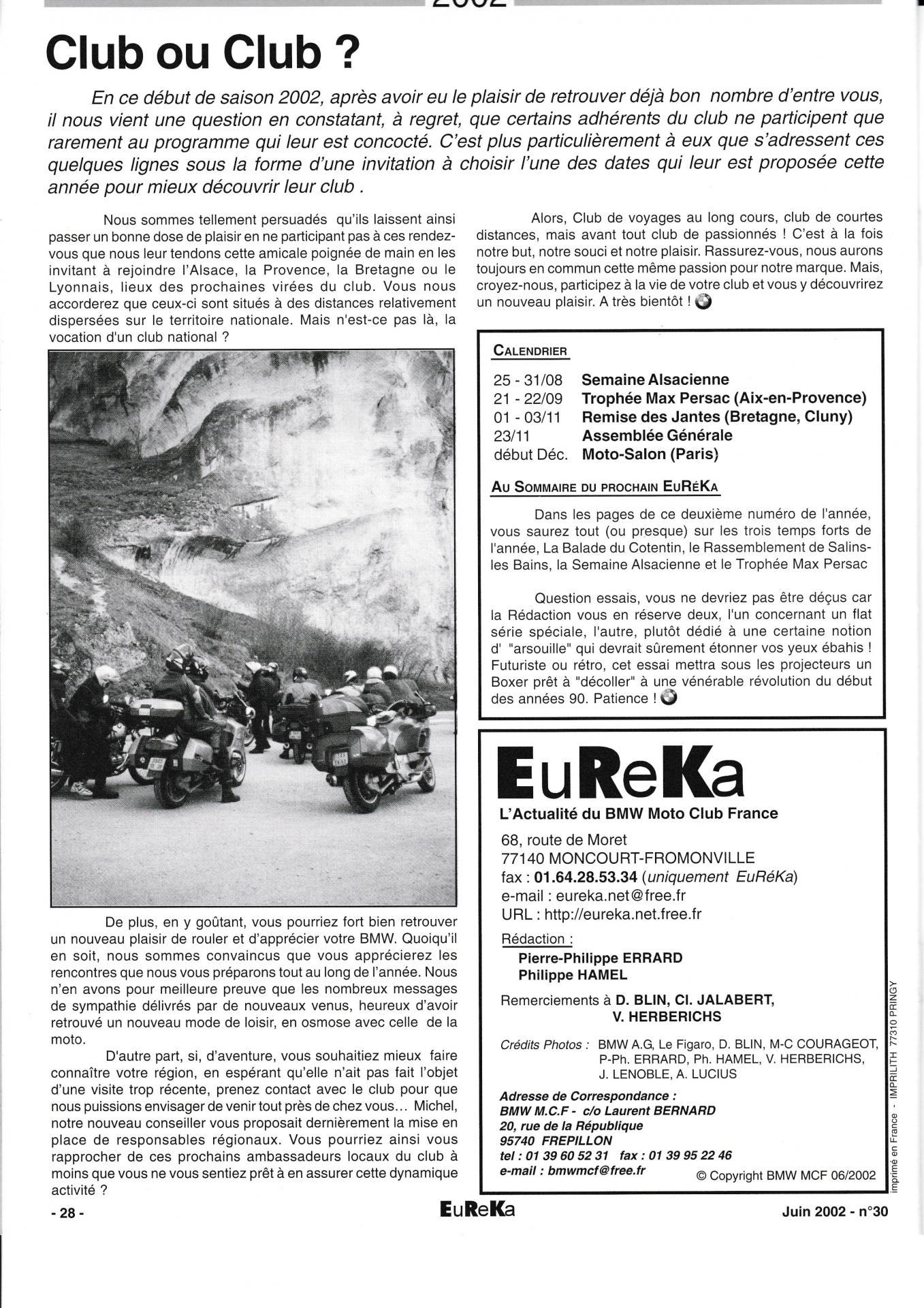 Eureka n 30 28