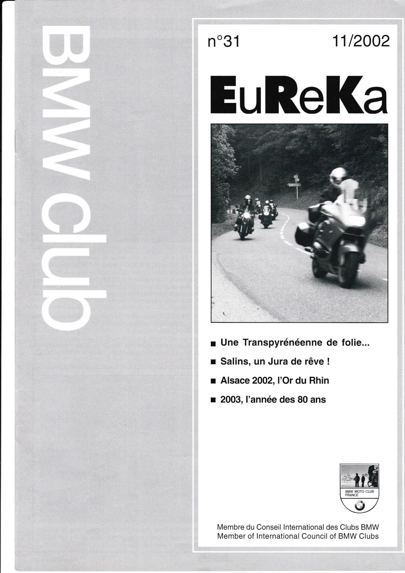 Eureka n 31 1