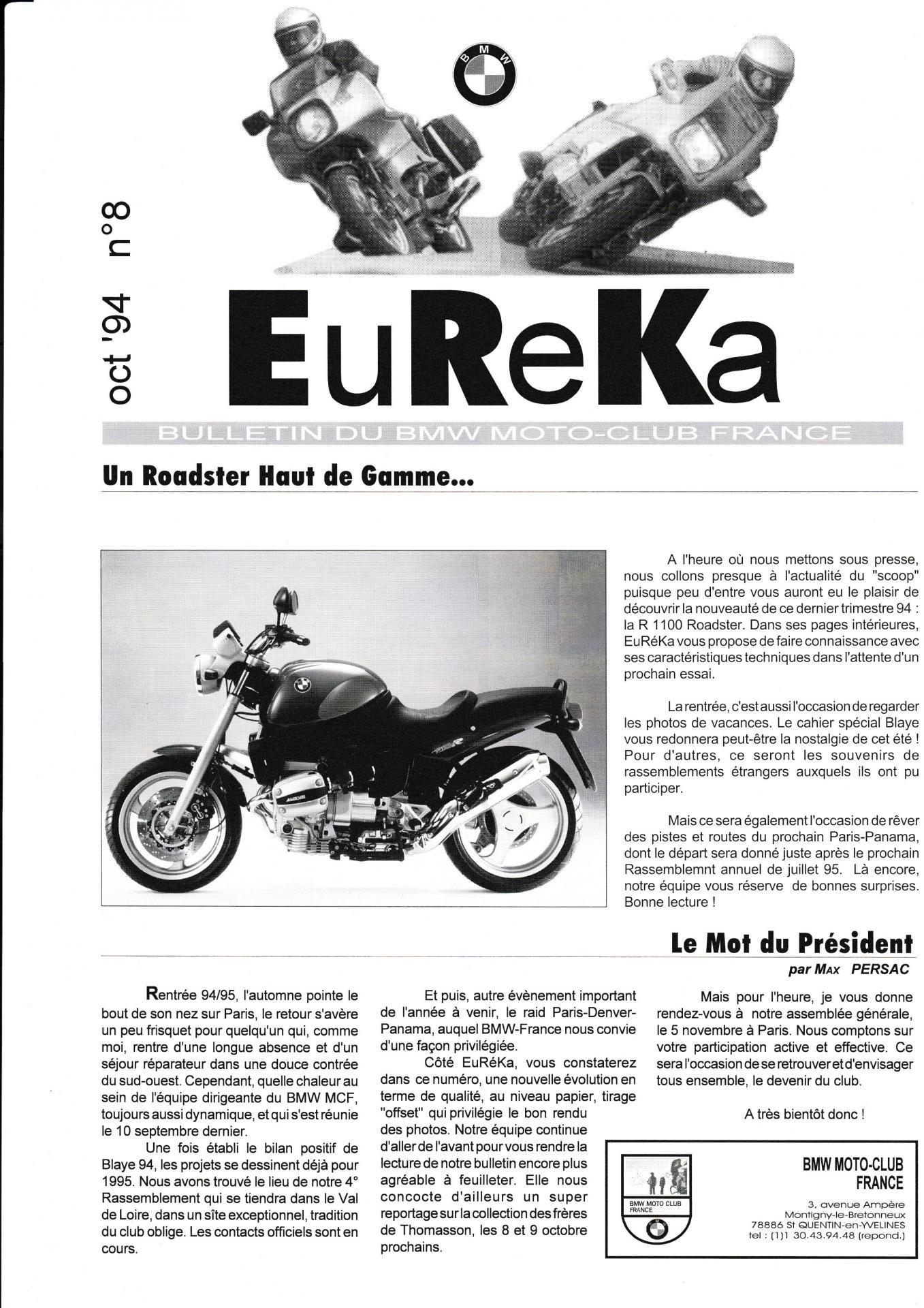 Eureka n 8 1