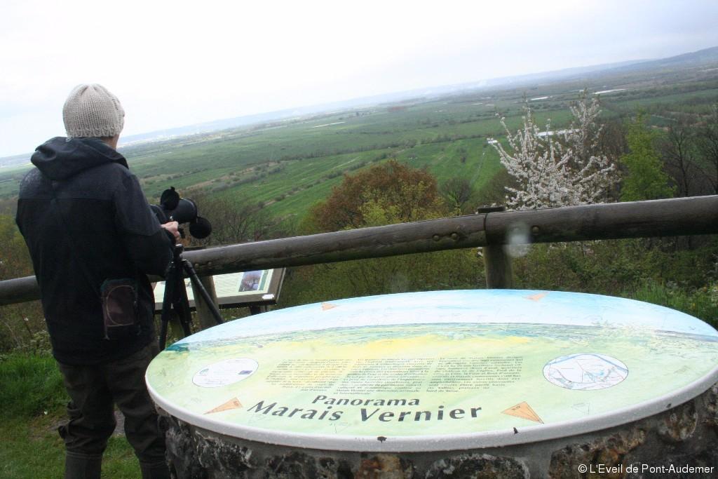 Panorama marais vernier