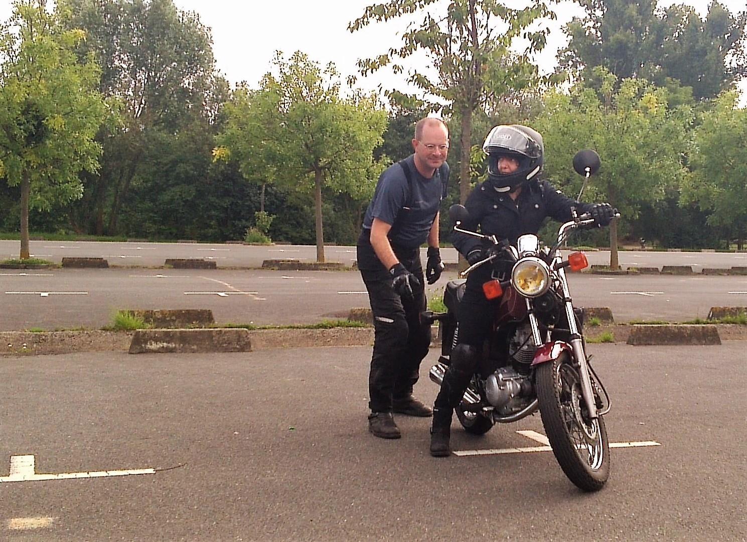 Temoignage passion moto
